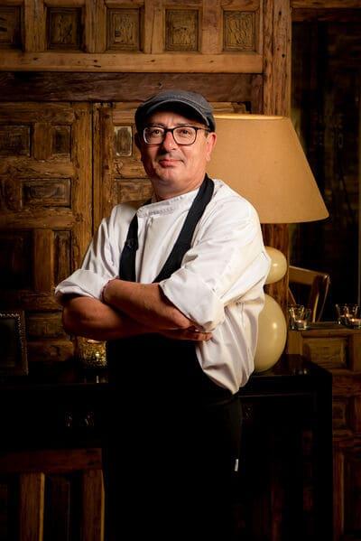 Juan cocina